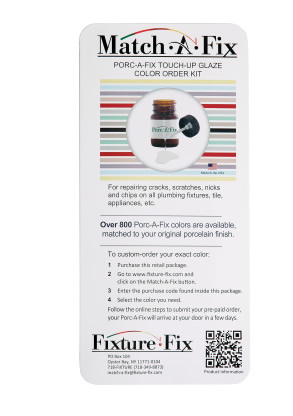 Match A Fix Porcelain Repair Kit